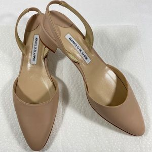 Like New Manolo Blahnik Aspro Sambra Pump